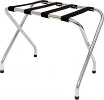 Chrome Luggage Stand