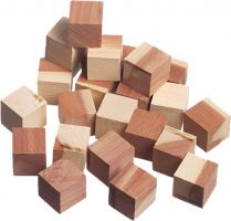 Cedar Cubes (Set of 24)