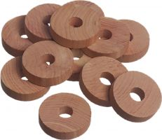 Cedar Rings / Disk (Set of 24)