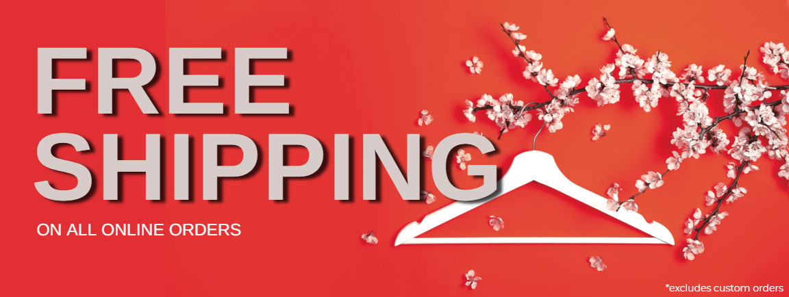 Free Shipping On All Orders. No minimum