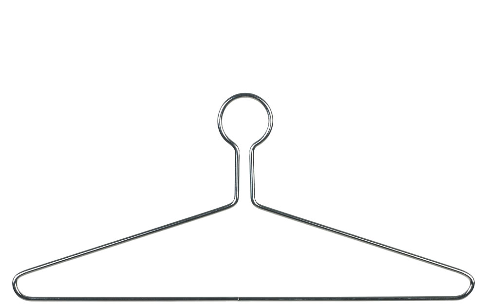 Chrome Metal Anti-Theft Top Hanger